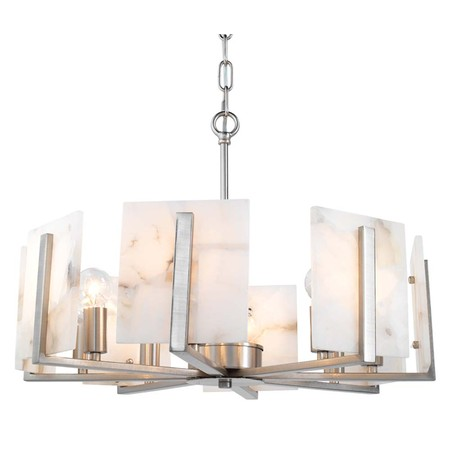halo chandelier in silver and alabaster chandelier jamie young the design network. Black Bedroom Furniture Sets. Home Design Ideas