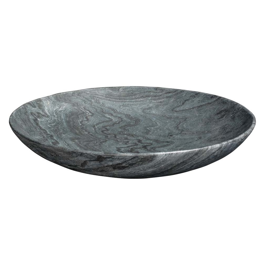 Extra Large Marble Bowl in Grey Marble | Jamie Young