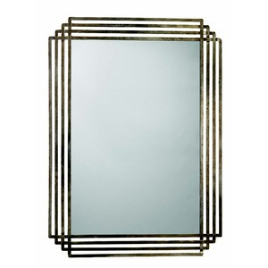 Serai Mirror in Antique Silver | Jamie Young