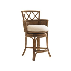 Kamala Bay Swivel Counter Stool | Tommy Bahama Home