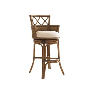 Kamala Bay Swivel Barstool | Tommy Bahama Home