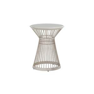 Martini Stainless Accent Table | Lexington