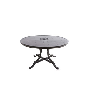 Bungalow Round Dining Table with Porcelain Top | Sunvilla Home