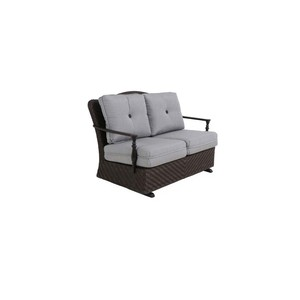 Bungalow Glider Loveseat | Sunvilla Home