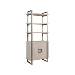 Vertex Bookcase in Bianco Finish | Artistica