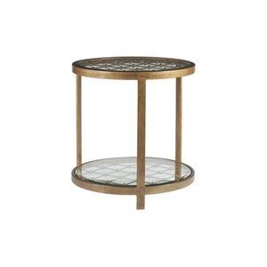 Royere Round End Table in Renaissance Finish | Artistica