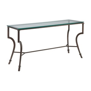 Syrah Console Table in Antique Copper Finish | Artistica