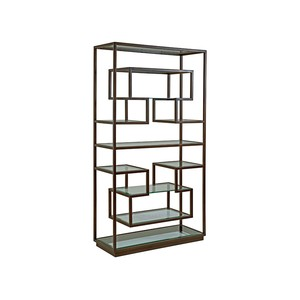 Holden Etagere in Antique Copper Finish | Artistica