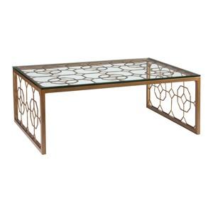 Honeycomb Rectangular Cocktail Table | Artistica