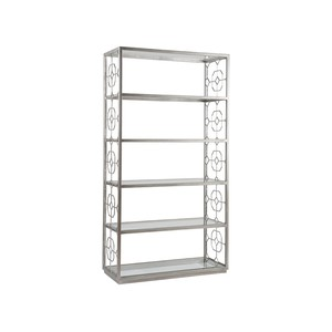 Honeycomb Etagere in Argento Finish | Artistica