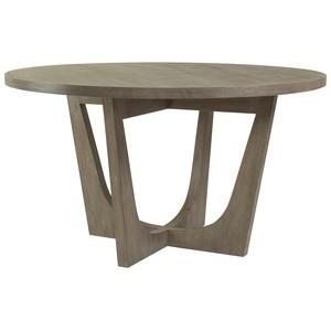 Brio Round Dining Table in Grigio Finish | Artistica