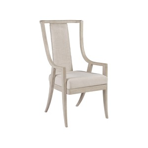 Mistral Woven Arm Chair in Bianco | Artistica