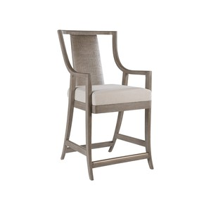 Mistral Woven Counter Stool in Grigio | Artistica