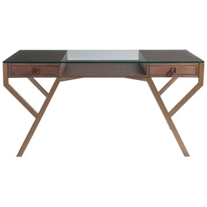 Interlaken Desk in Marrone | Artistica