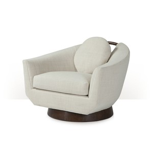 Willoughby Swivel Lounge Chair | Theodore Alexander