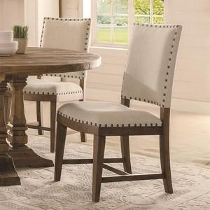 Hawthorne Upholstered Side Chair | Riverside