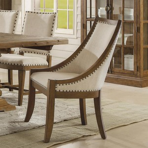 Hawthorne Upholstered Hostess Chair | Riverside