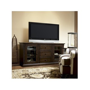 Paula Deen Entertainment Console in Molasses | Universal Furniture