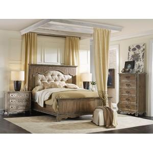 Upholstered Mantle Panel Bed | Hooker Furniture