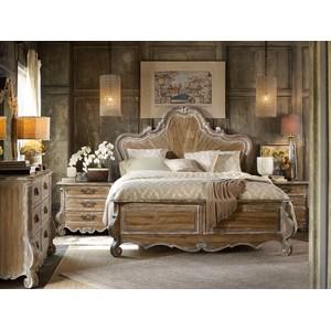 Chatelet Wood Panel Bed | Hooker Furniture