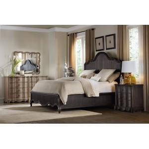 Corsica Dark 6/6 Panel Bed | Hooker Furniture
