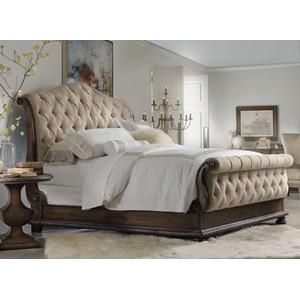 Rhapsody King Tufted Bed | Hooker Furniture