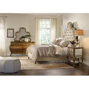 Sanctuary Tufted Bed | Hooker Furniture