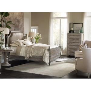 True Vintage Upholstered Poster Bed | Hooker Furniture