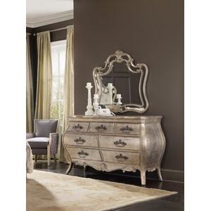 Bardot Shaped Mirror   Hooker Furniture