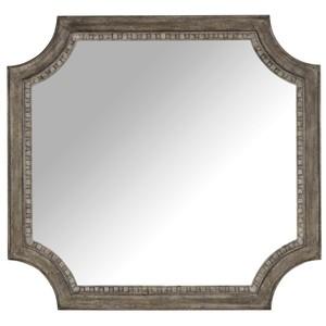 True Vintage Shaped Mirror   Hooker Furniture