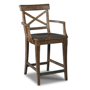 Rob Roy Counter Stool | Hooker Furniture