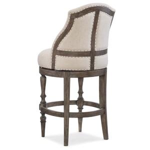 Kacey Deconstructed Barstool | Hooker Furniture