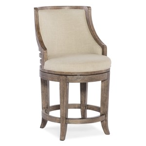 Lainey Transitional Counter Stool | Hooker Furniture