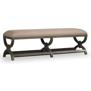 Vintage West Bench | Hooker Furniture