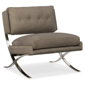 Cherie Metal Frame Club Chair | Hooker Furniture