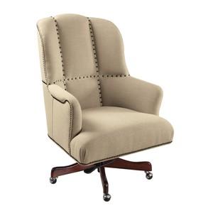 Larkin Oat Executive Swivel Tilt Chair | Hooker Furniture