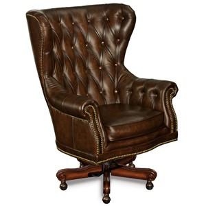 Erin Executive Swivel Tilt Chair | Hooker Furniture