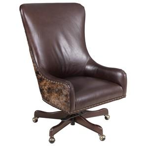 Harry Executive Swivel Tilt Chair | Hooker Furniture