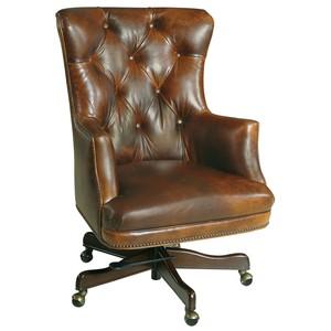 Bradley Executive Swivel Tilt Chair | Hooker Furniture