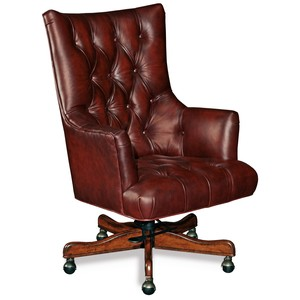 Jenna Executive Swivel Tilt Chair | Hooker Furniture