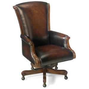 Samuel Executive Swivel Tilt Chair | Hooker Furniture