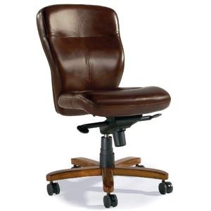 Sasha Executive Swivel Tilt Chair | Hooker Furniture
