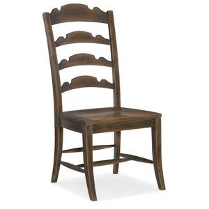 Twin Sisters Ladderback Side Chair | Hooker Furniture