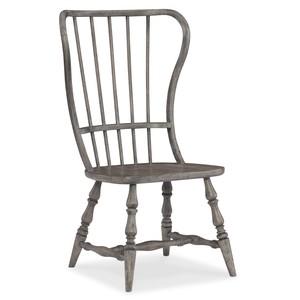 Sanctuary Spindle Back Side Chair | Hooker Furniture