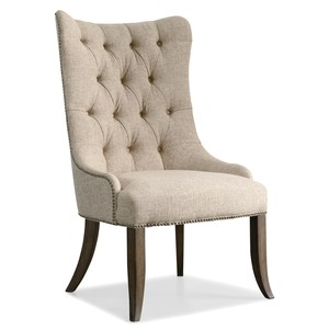 Rhapsody Tufted Dining Chair | Hooker Furniture