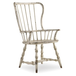 Sanctuary Spindle Back Arm Chair | Hooker Furniture