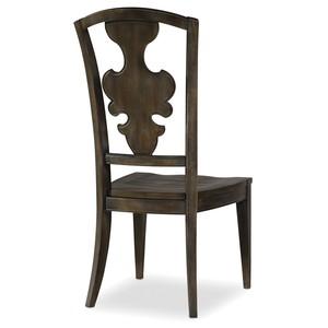 Greige Journey Side Chair | Hooker Furniture