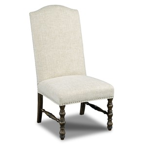 Upholstered Armless Dining Chair | Hooker Furniture