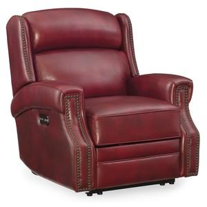 Carlisle Power Recliner w/ Power Headrest | Hooker Furniture