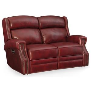 Carlisle Power Motion Loveseat w/ Power Headrest | Hooker Furniture